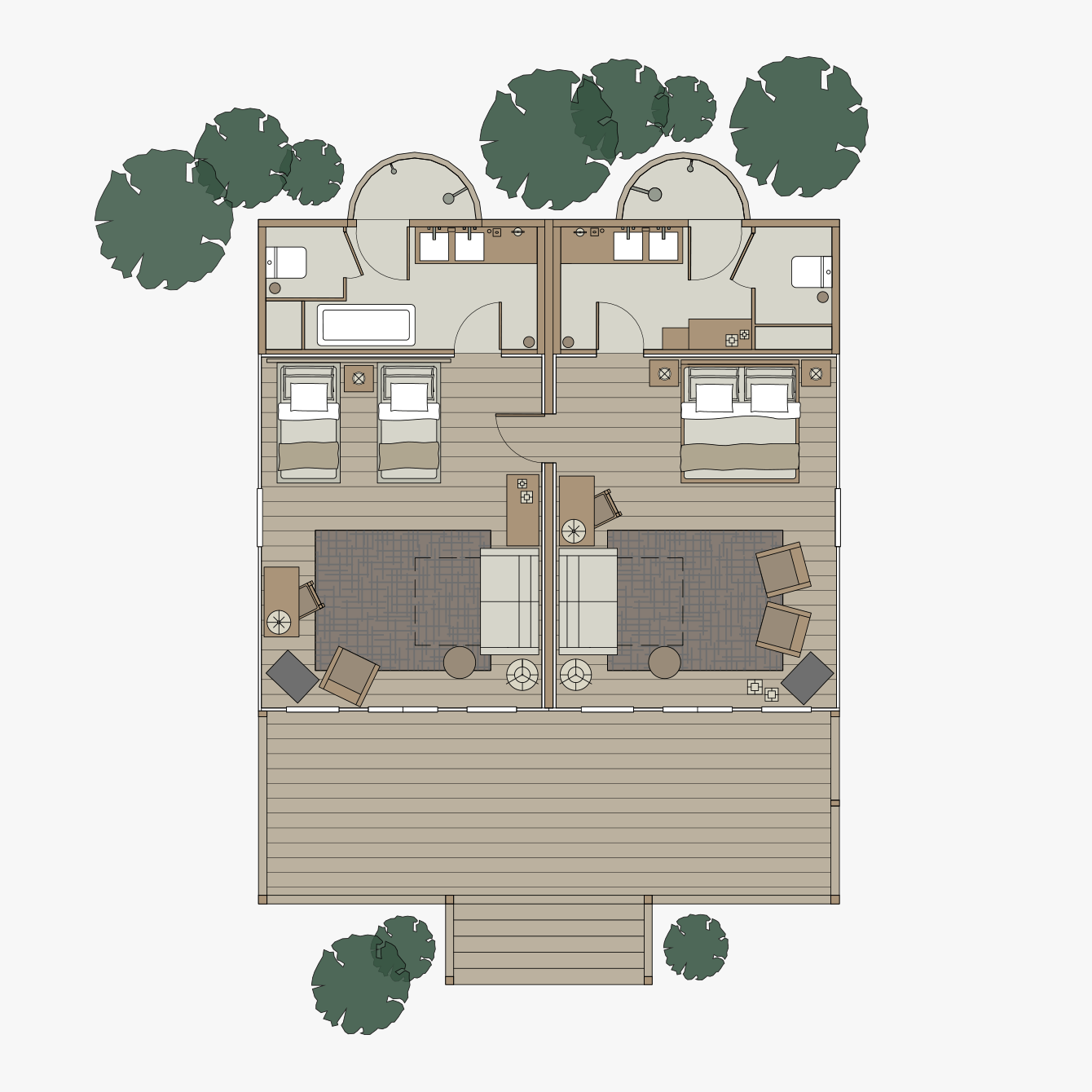 Hillside Family Floorplan